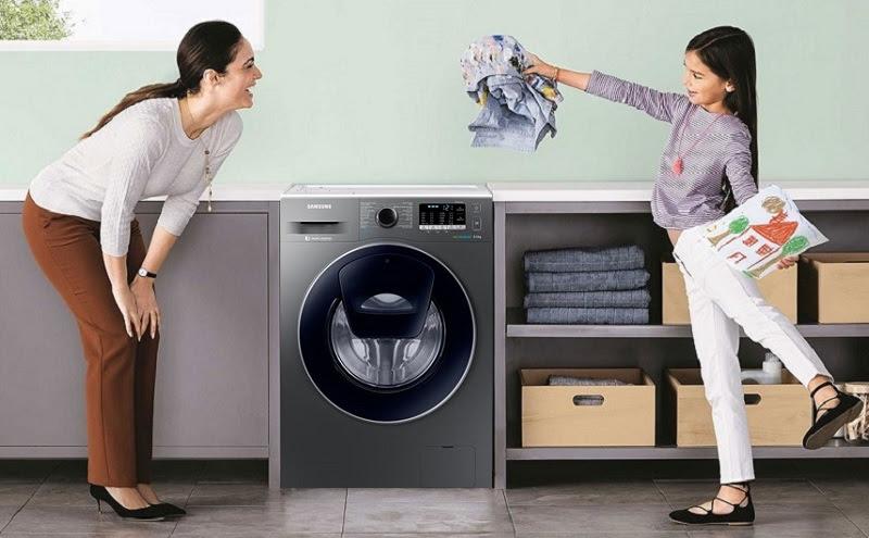 máy giặt Samsung Đa dạng kiểu dáng