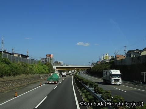 JRバス関東「グラン昼特急8号」 ・・12 2階 最前席からの眺望_12