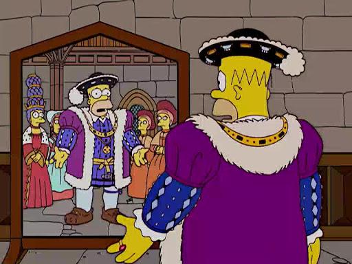 Los Simpsons 15x11 El recorrido histórico de Marge