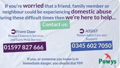 Worrying drop in domestic abuse calls