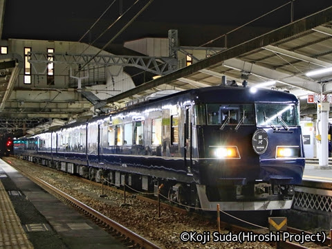 JR西日本 117系「WEST EXPRESS 銀河」 山陽ルート(上り)の旅_倉敷駅にて_01