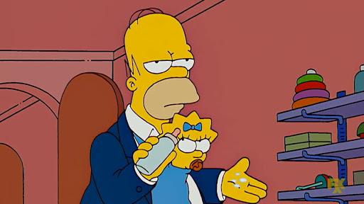 Los Simpsons 19x04 Una mediamañana de perros