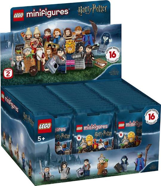 Contenido de Lego® 71028  Sobre Sorpresa Harry Potter 2, Caja Completa