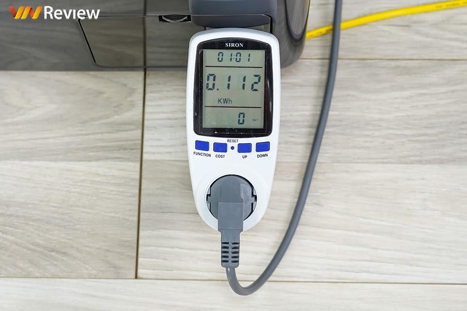 lượng điện tiêu thụ mặc định