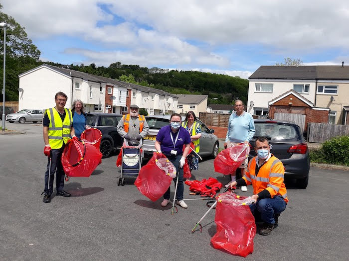 Spring clean campaign highlights rubbish left on streets