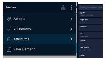 Comprehensive web UI Element Inspector and Explorer