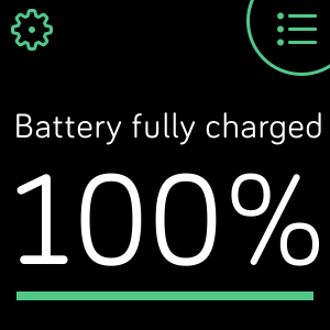 Make sure Fitbit device is charged to 100% exactly.