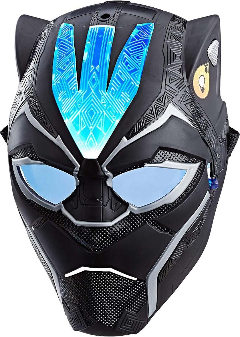 Avengers Marvel Black Panther Vibranium Power FX Mask Brown/a