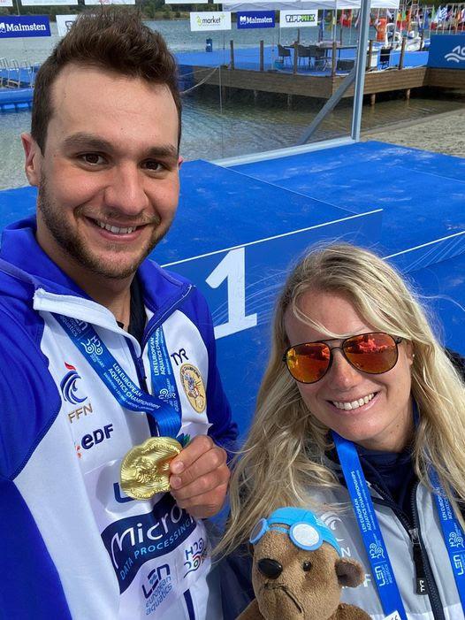 Champion d'Europe 2020-21 du 25 km