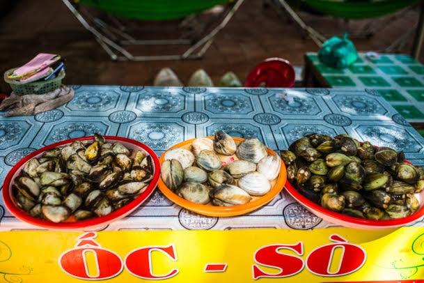 Seafood feasting