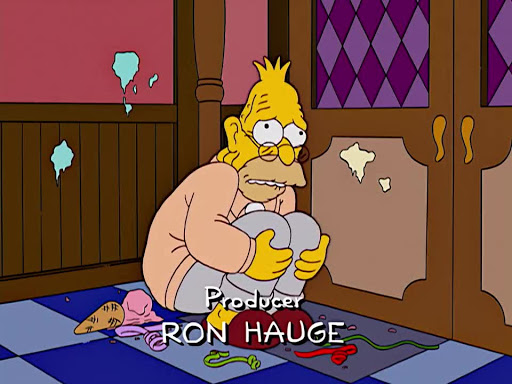 Los Simpsons 15x14 Artie Ziff viene a cenar