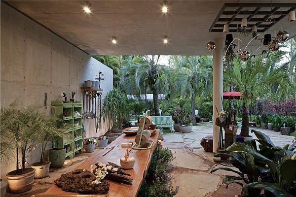 thiết kế nội thất cửa hàng cây cảnh
