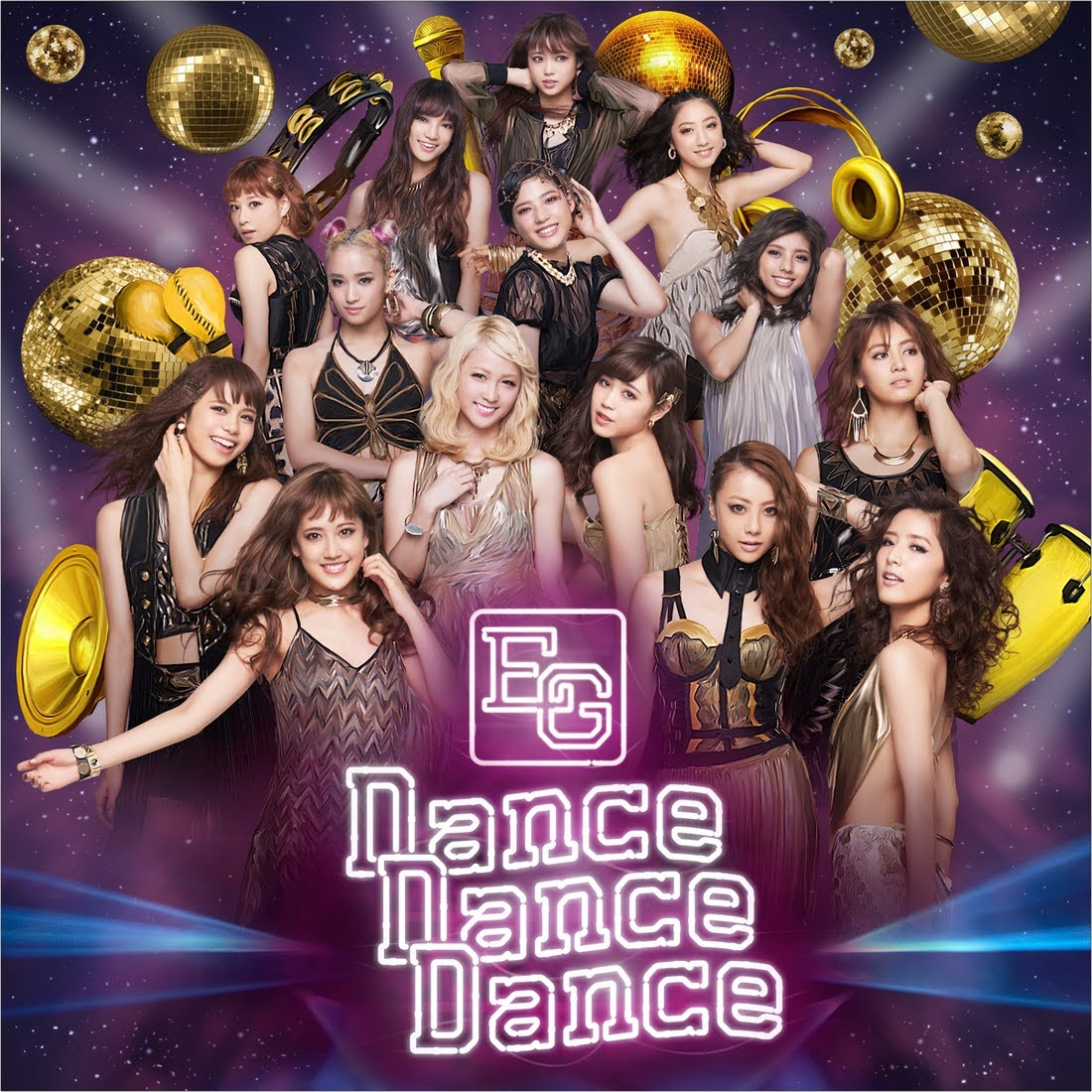 "Capa do single ""Dance Dance Dance"" – CD Only Edition."