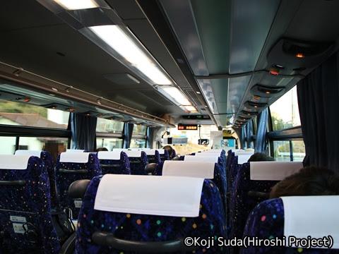 ミヤコーバス「仙台気仙沼線」 2973 ミヤコーバス「仙台気仙沼線」 2973 車内の様子