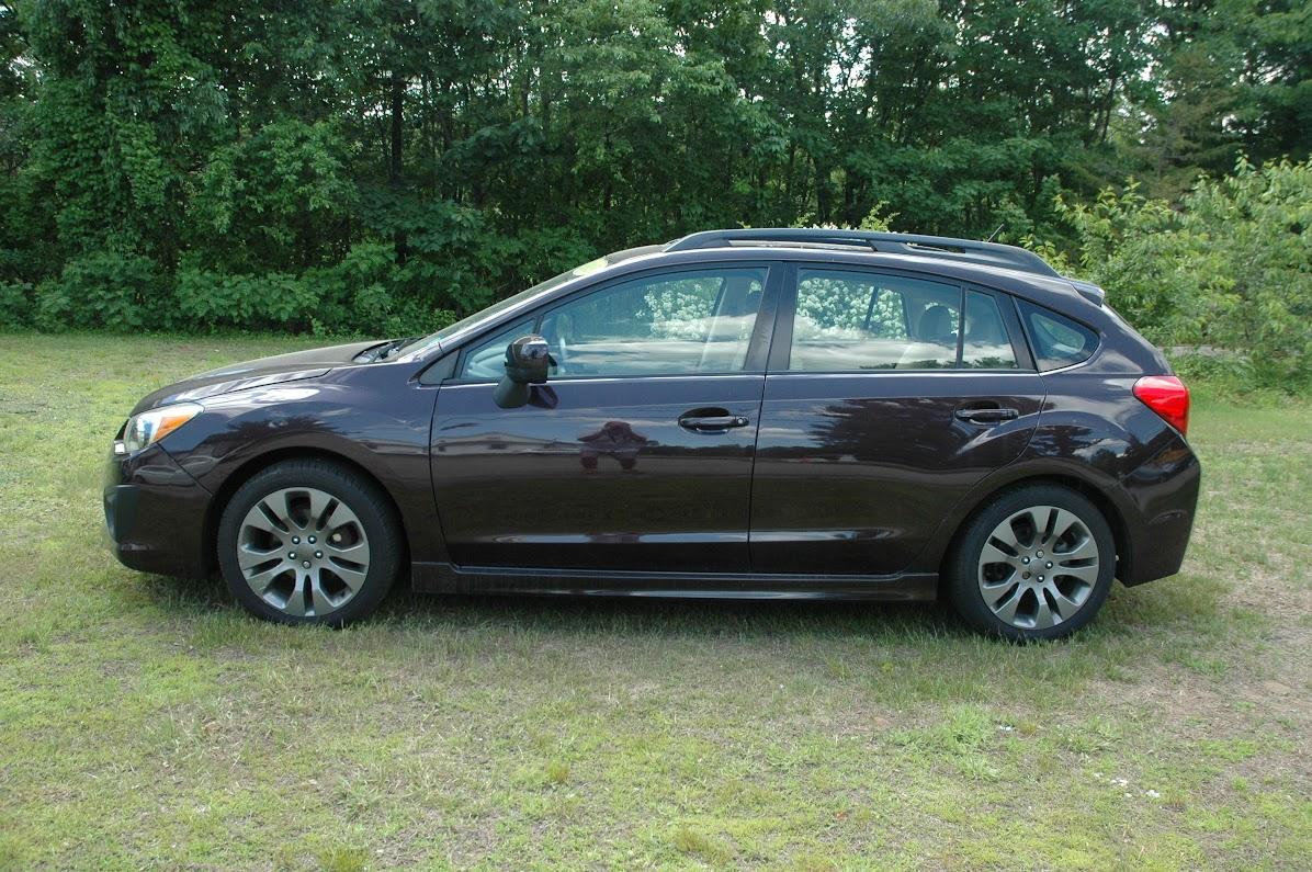 2013 Subaru Impreza Sport Limited Purple