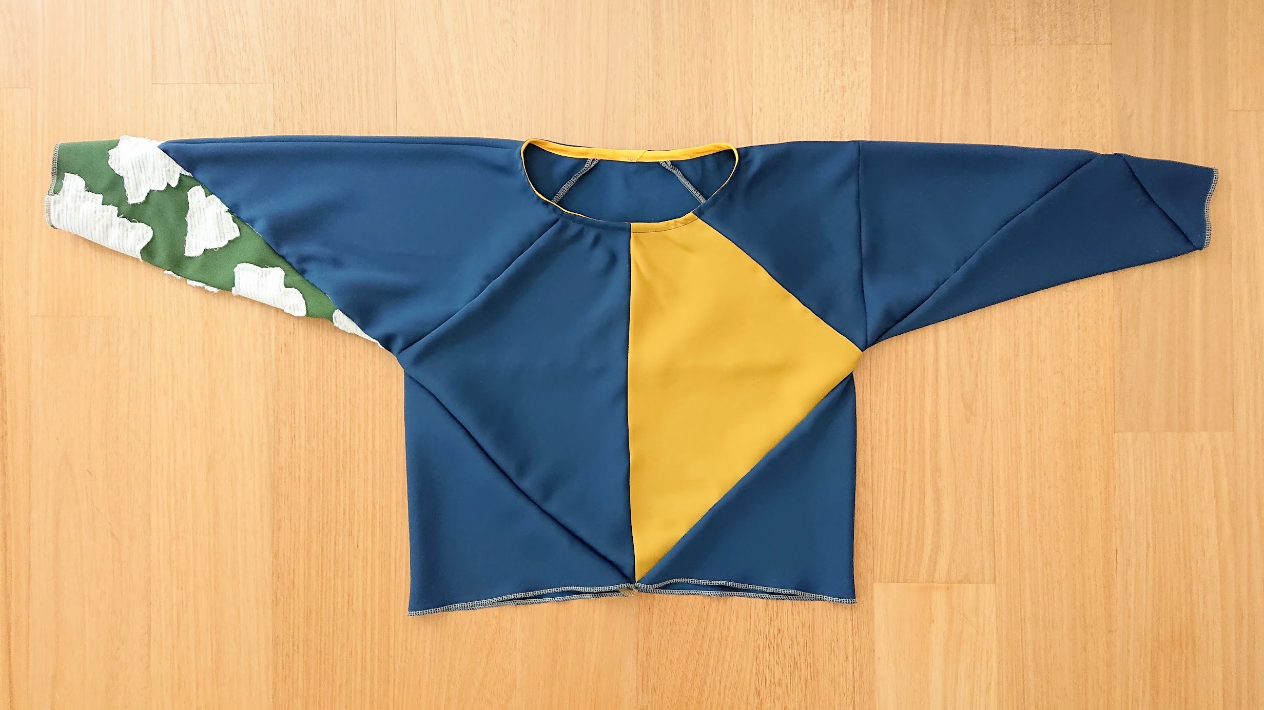 Result: Origami Top - Upcycling Project | FAFAFOOM.COM