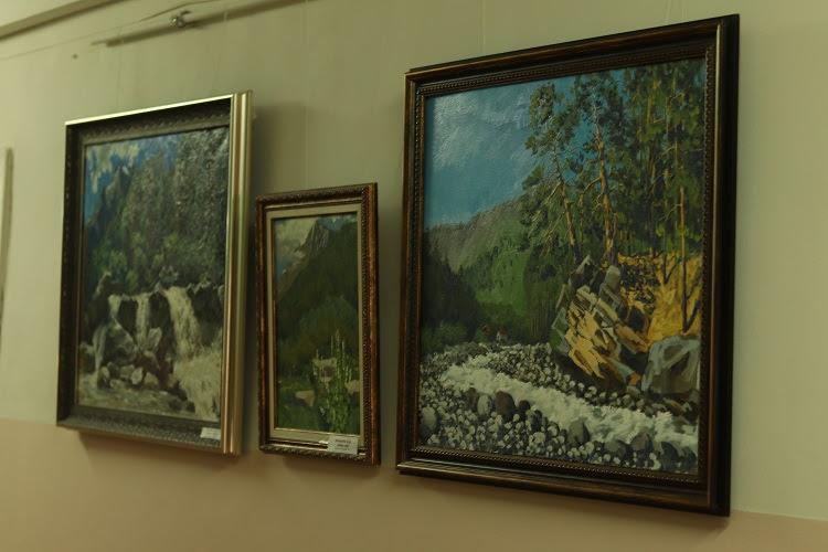 Выставка работ преподавателя ВГИИК