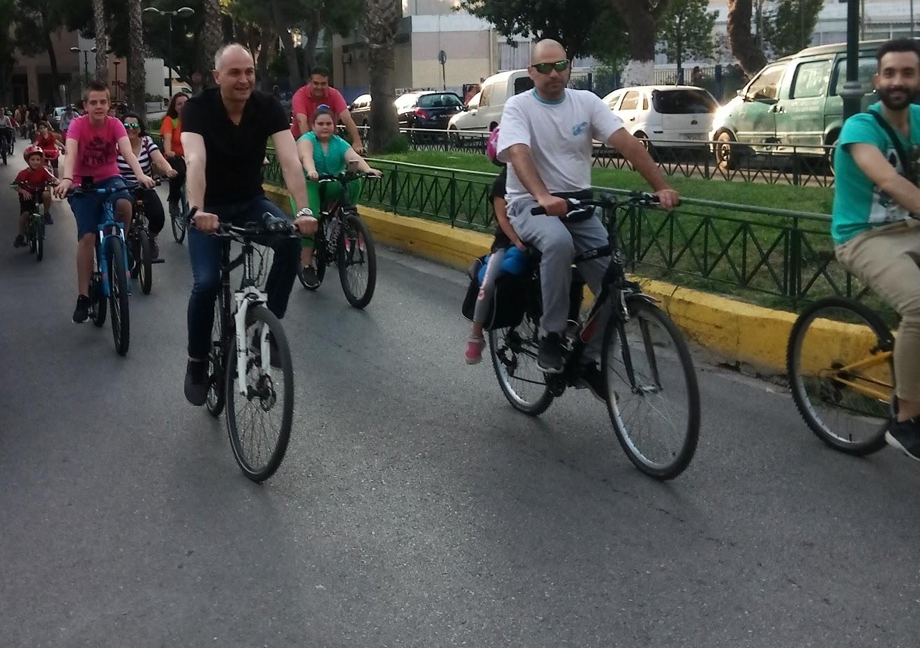 Ποδηλατική Βόλτα στο Δήμο Μεταμόρφωσης