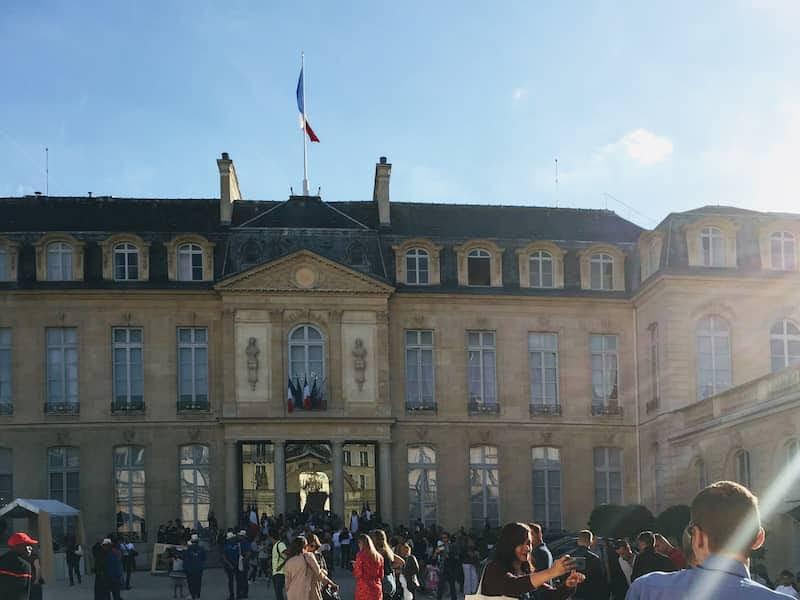 エミリー、パリへ行く 大統領官邸エリゼ宮