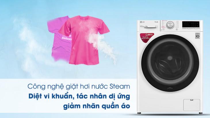Công nghệ giặt hơi nước TrueSteam