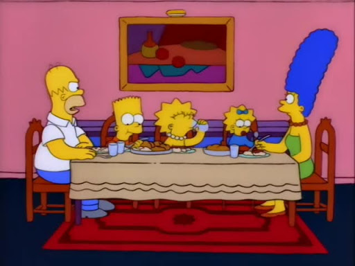 Los Simpsons 8x12 La montaña de la locura