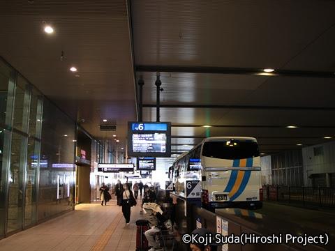 JRバス関東「グラン昼特急8号」 大阪駅JR高速バスターミナル_02