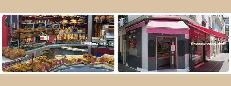 パリのパンオショコラ Boulangerie Stema ブランジェリー・スティマ