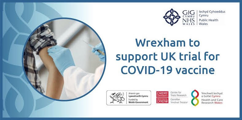 Call for Welshpool residents to take part in Covid-19 vaccine trial