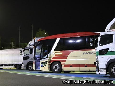 長電バス「ナガデンエクスプレス」大阪線 1453 草津PAにて_03