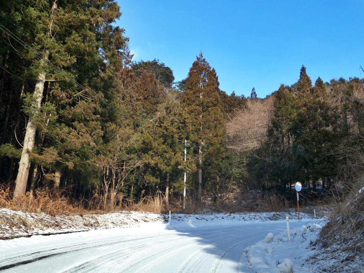 坂の貝峠への道 その1