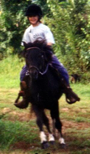 Skye riding WF Action Jackson