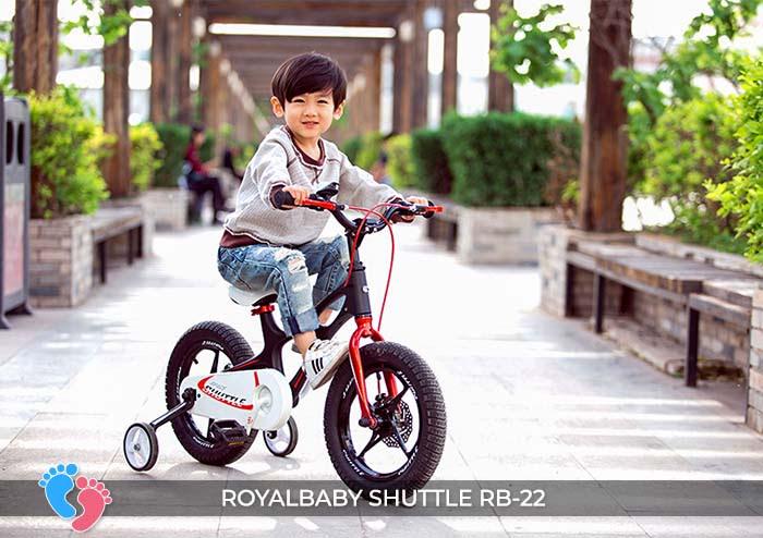 Xe đạp trẻ em Royal Baby Shuttle RB-B22 8
