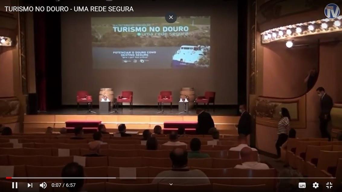 Vídeo - Turismo no Douro - Uma rede segura