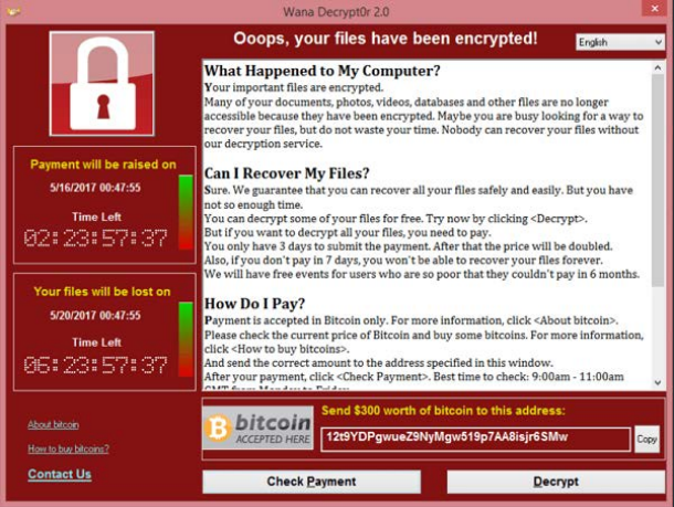 EC-Council Issues WANNACRYPT / wannacry Updated Cyber Security Briefing