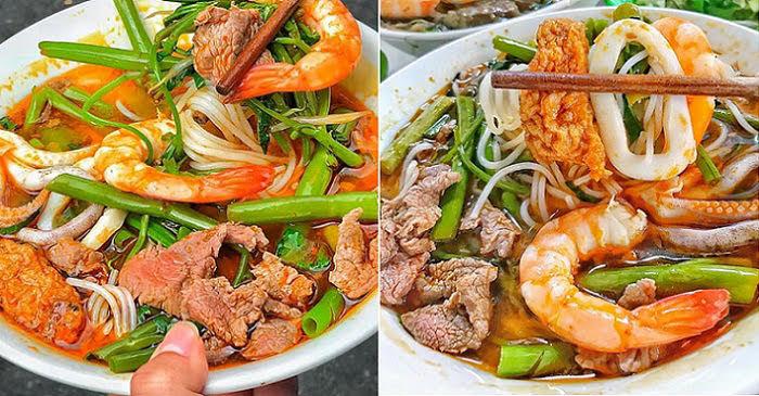 Cách nấu bún Thái hải sản chua cay, đậm đà chuẩn vị