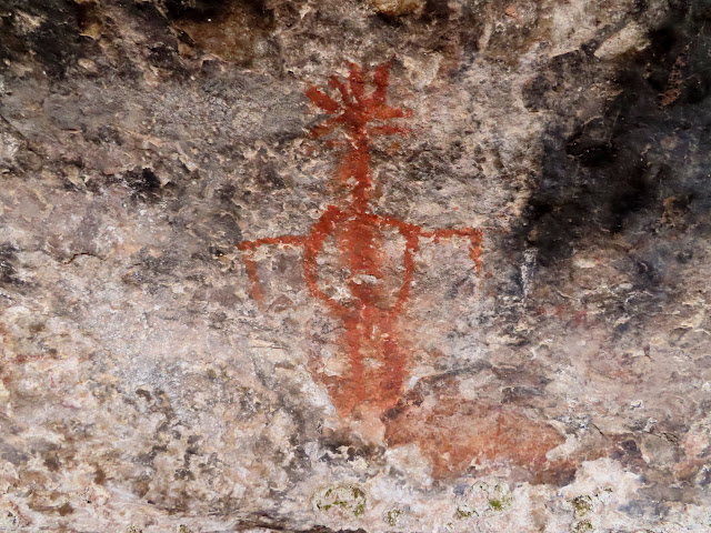 Cave Spring pictograph