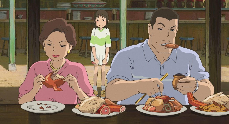 《 神隱少女 》千尋爸爸吃的原來不是肉圓?!