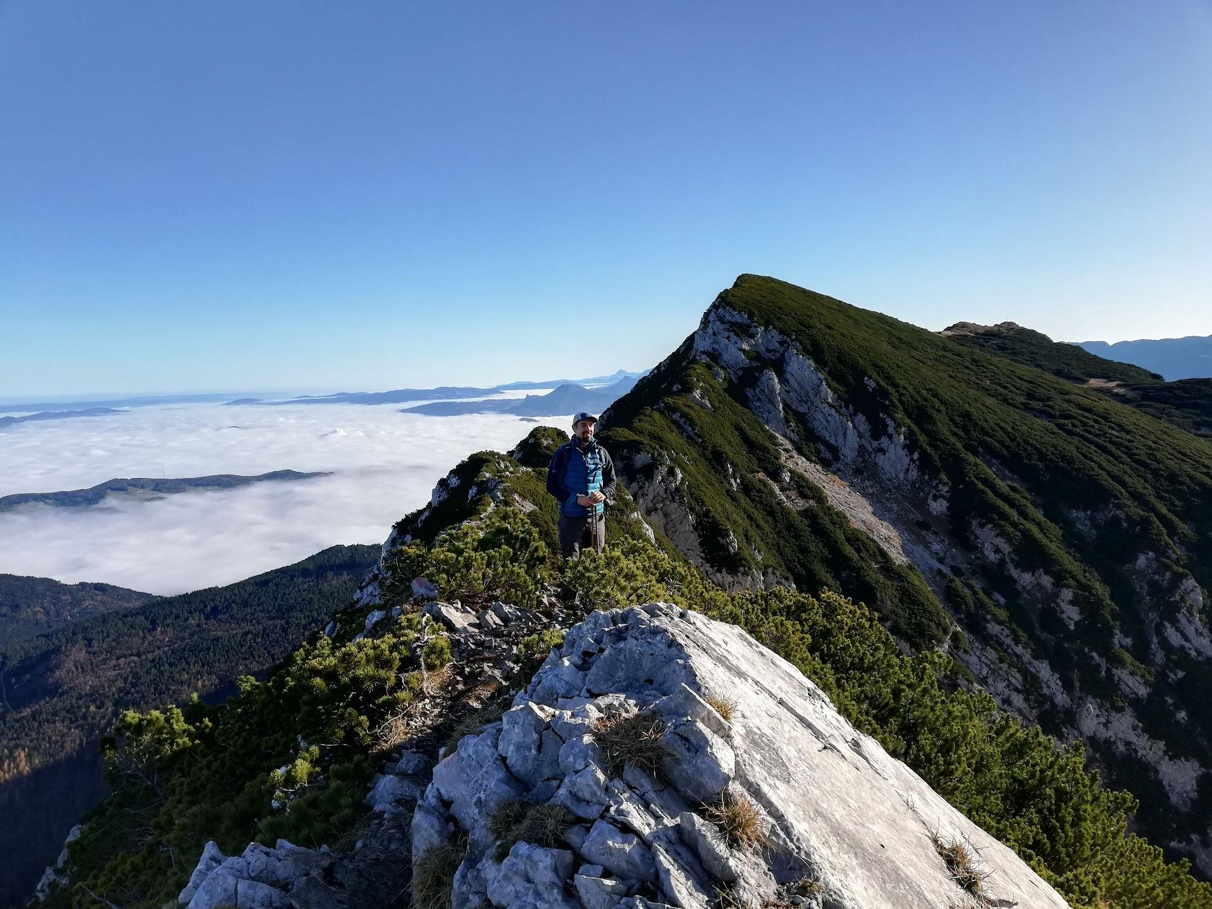 Chiemgau Alps: Staufen ridge hike - Nov 20