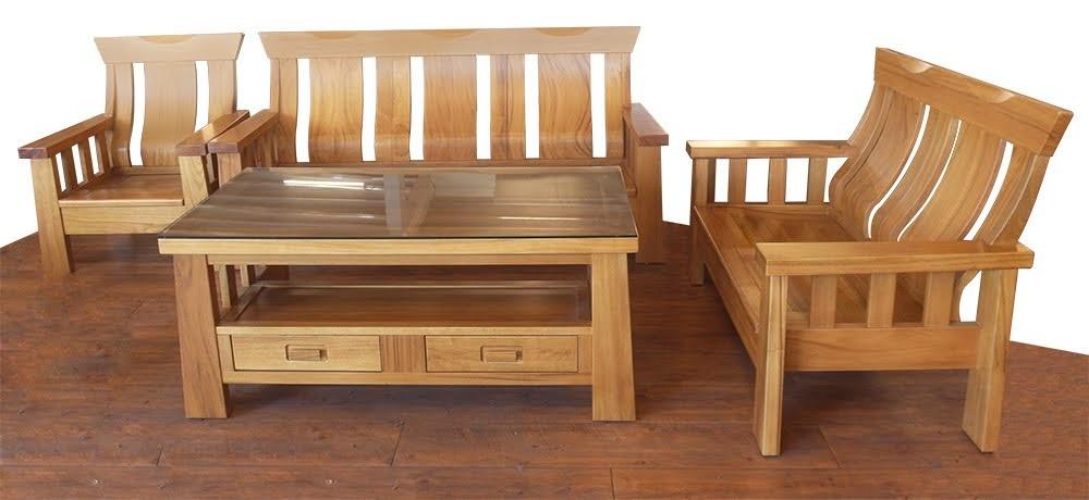 648-31 來財 柚木木組椅