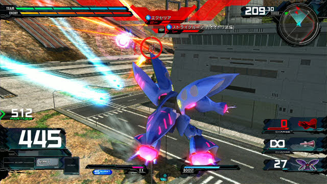 キュベレイMk-II(プル・ニュータイプ能力) メイン射撃