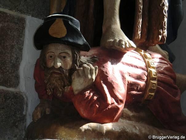 Nieblum, Kirche: Ganz am Boden