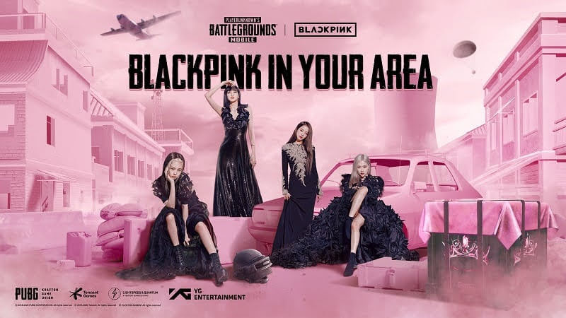 PUBG Mobile will collaborate with BlackPink