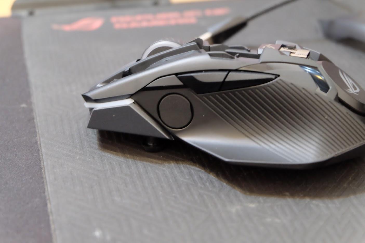 無限變化 無線更順手 ASUS ROG CHAKRAM 無線三模電競滑鼠