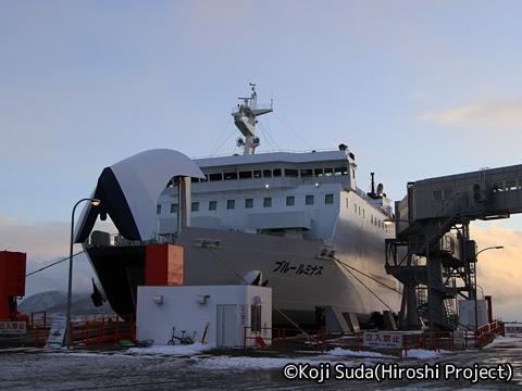 津軽海峡フェリー「ブルールミナス」