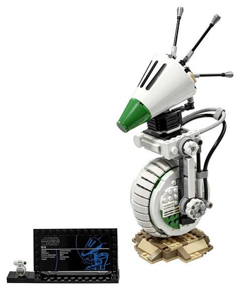 Contenido de Lego® 75278 D-O™