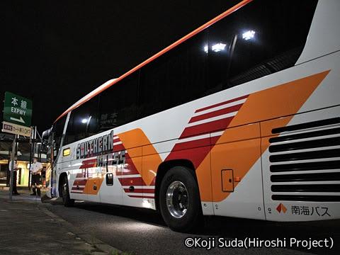 南海バス「サザンクロス」長岡・三条線 ・518 草津PA第二駐車場にて_02