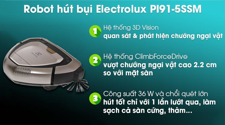 Robot hút bụi Electrolux PI91-5SSM