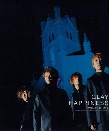 "Capa do single ""HAPPINESS -WINTER MIX-"" – 12cm."
