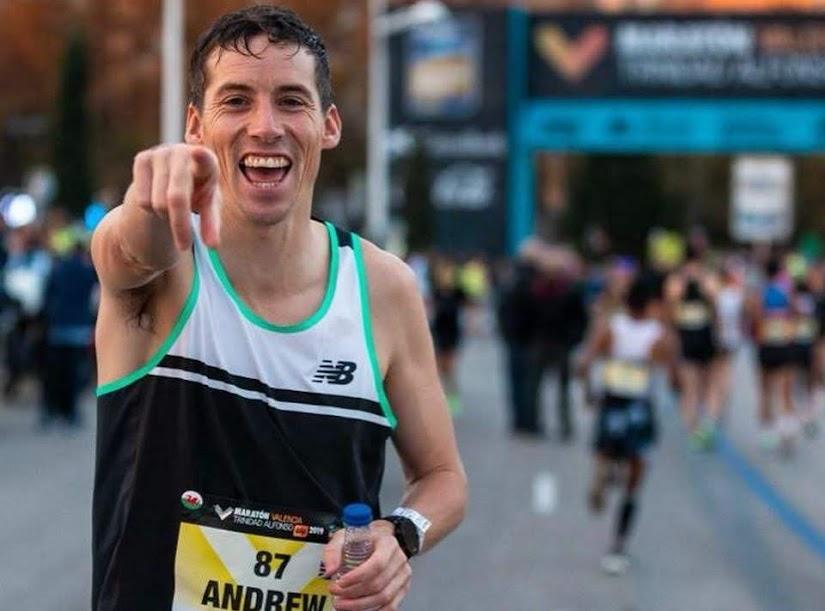 Davies wins first marathon