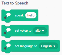 Scratch 3.0: Nhóm lệnh Text to Speech
